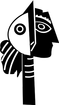 Cubism clipart #2, Download drawings