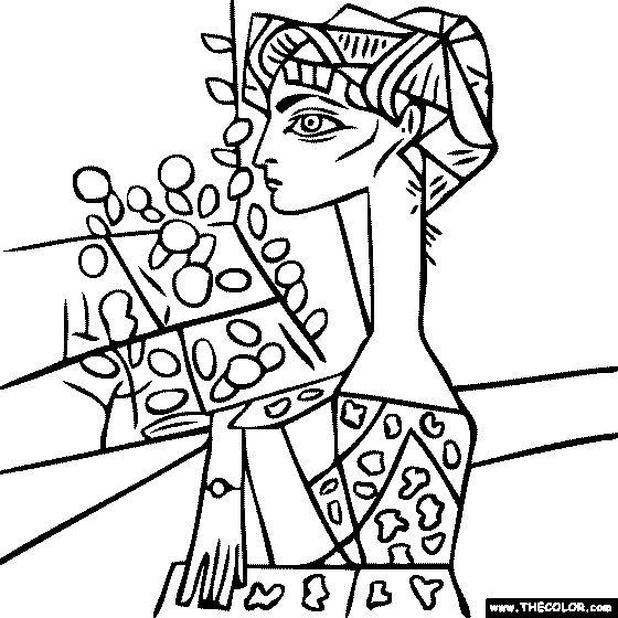 Cubism coloring Download Cubism