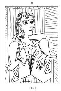 Cubism coloring #1, Download drawings