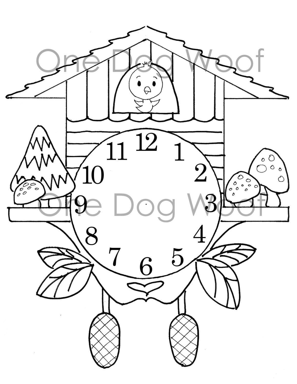Cuckoo coloring #9, Download drawings