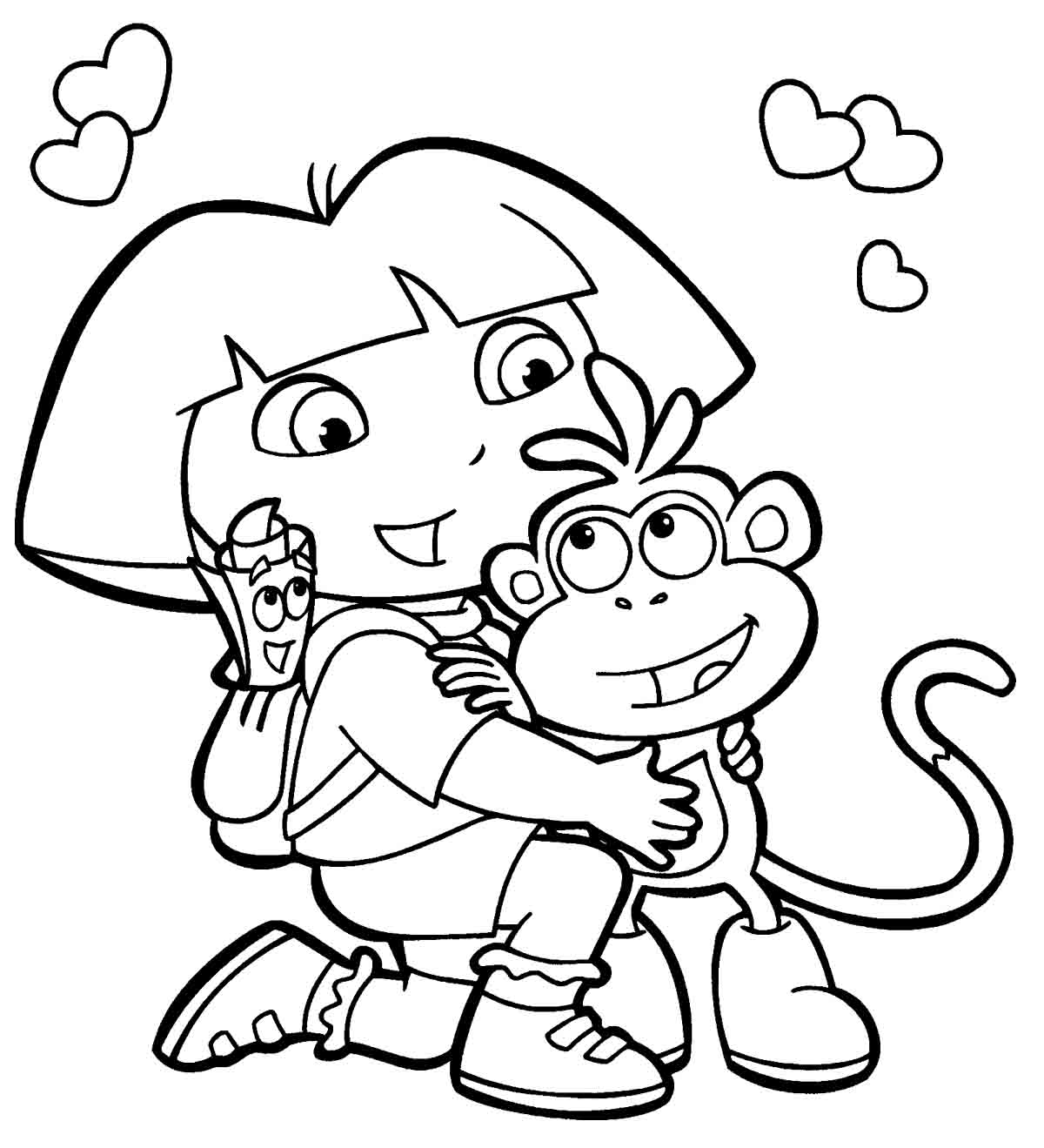 Cuddle coloring #15, Download drawings