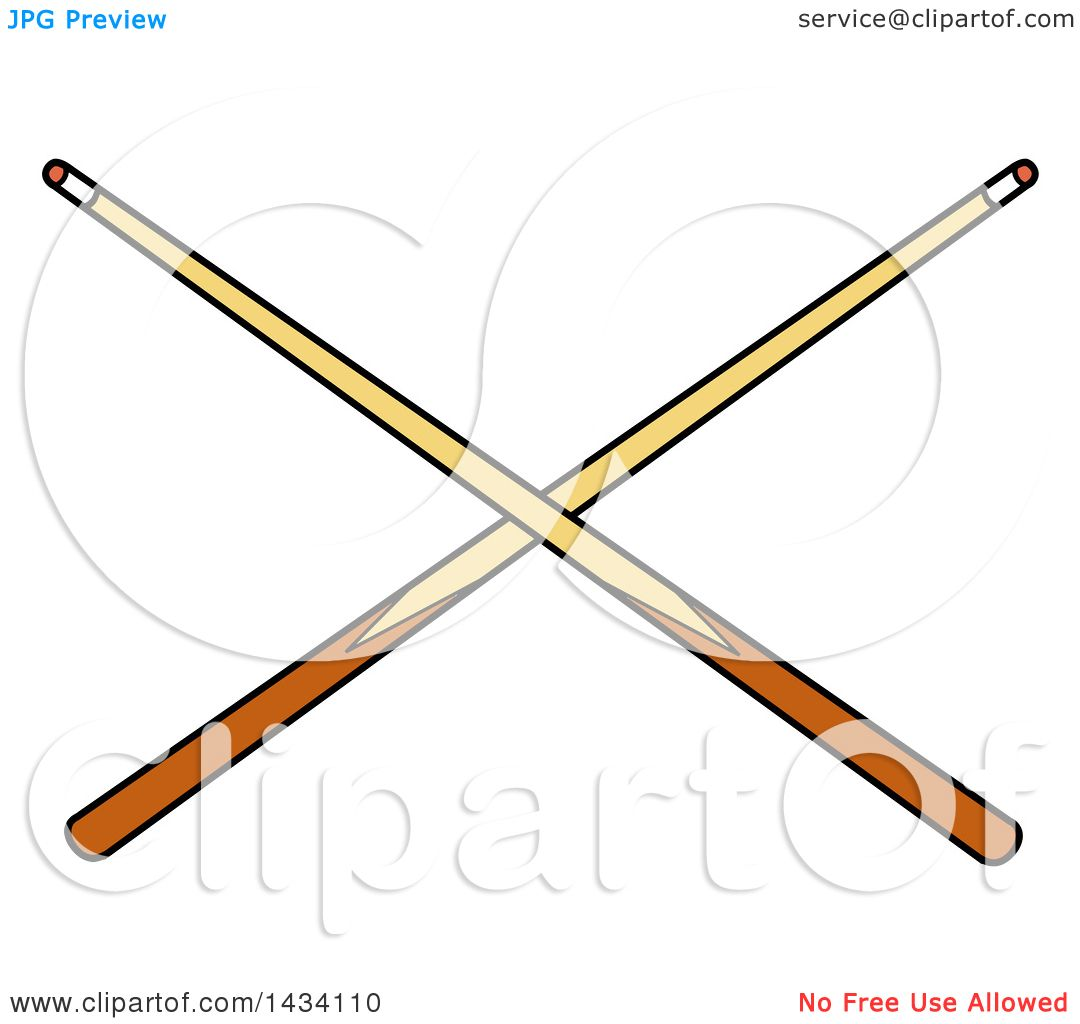 Cue Stick clipart #2, Download drawings