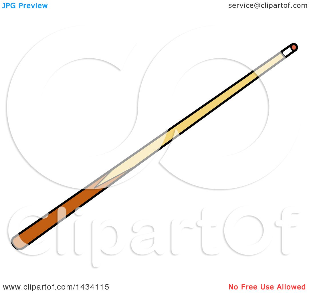 Cue Stick clipart #3, Download drawings