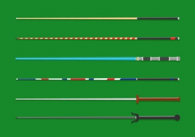 Cue Stick svg #14, Download drawings