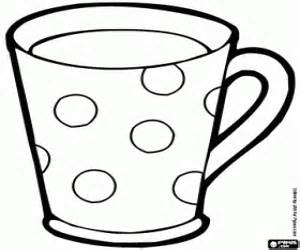 Cup coloring #5, Download drawings