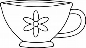 Cup coloring #15, Download drawings