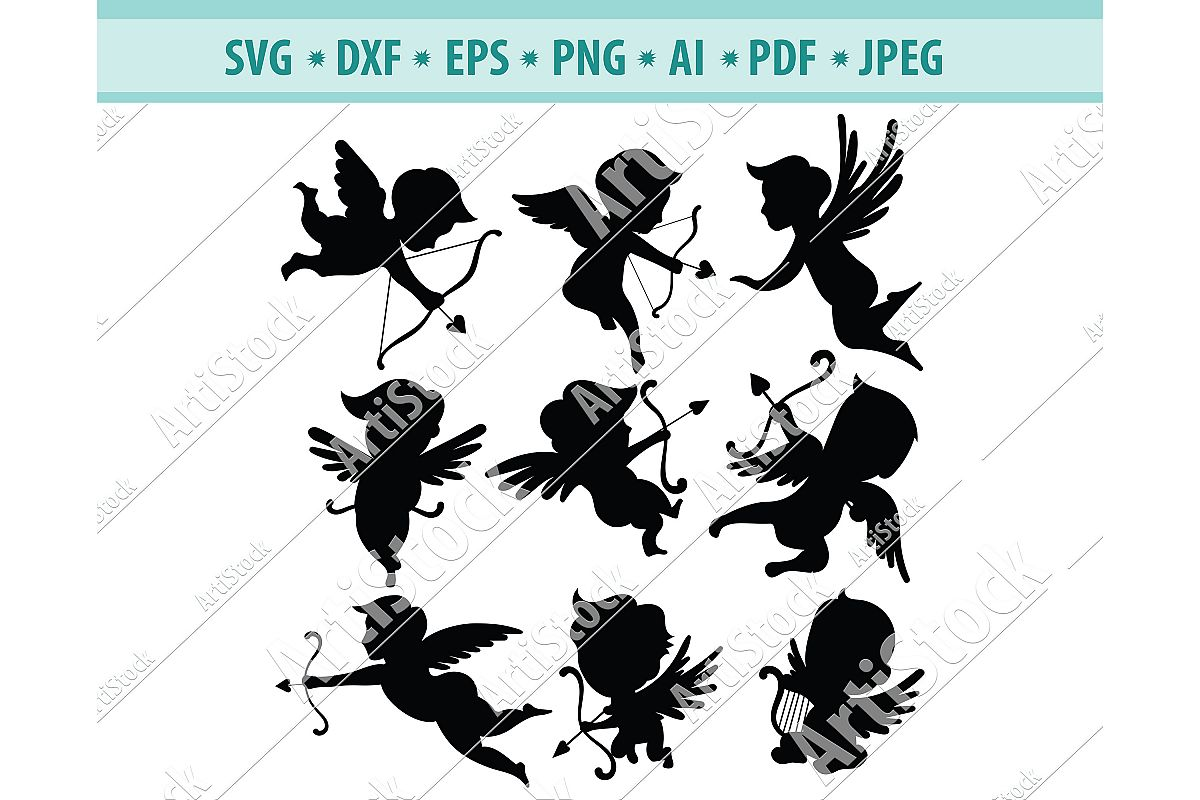 cupid svg #173, Download drawings
