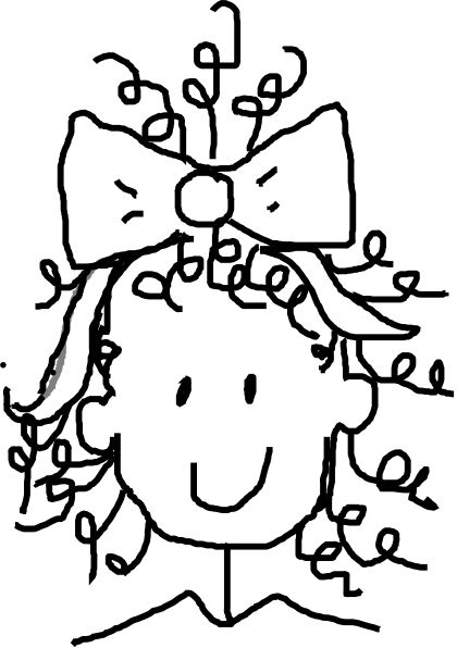 Curl clipart #1, Download drawings