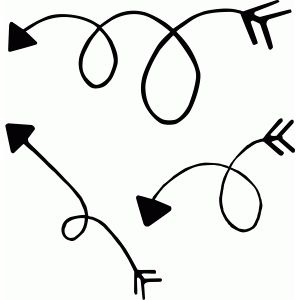curly arrow svg #701, Download drawings