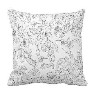 Cushion coloring #14, Download drawings