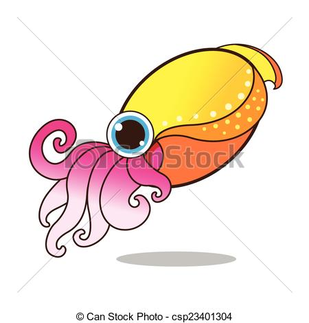 Cuttlefish clipart #11, Download drawings