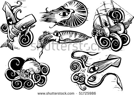Cuttlefish svg #3, Download drawings