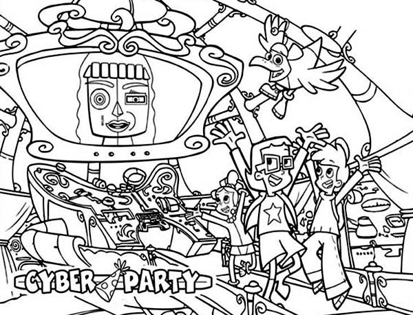 Cyber coloring #12, Download drawings