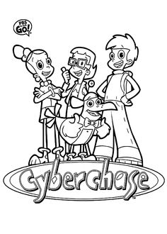 Cyber coloring #6, Download drawings