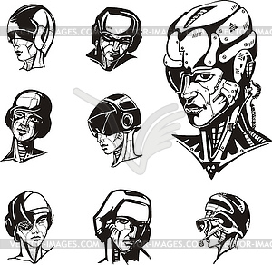 Cyborg clipart #3, Download drawings