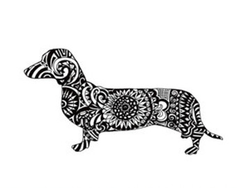 Dachshund svg #3, Download drawings