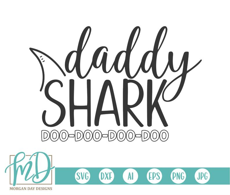 daddy shark svg #100, Download drawings