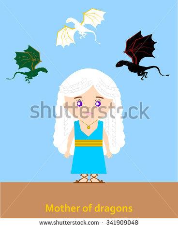 Daenerys Targaryen clipart #20, Download drawings