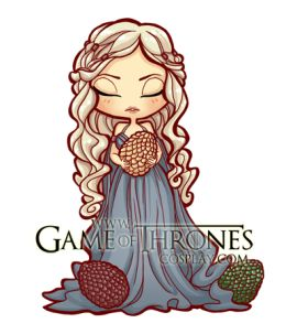 Daenerys Targaryen clipart #13, Download drawings