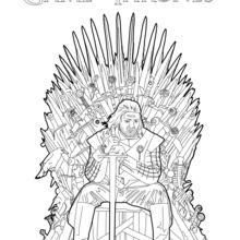 Eddard Stark coloring #20, Download drawings