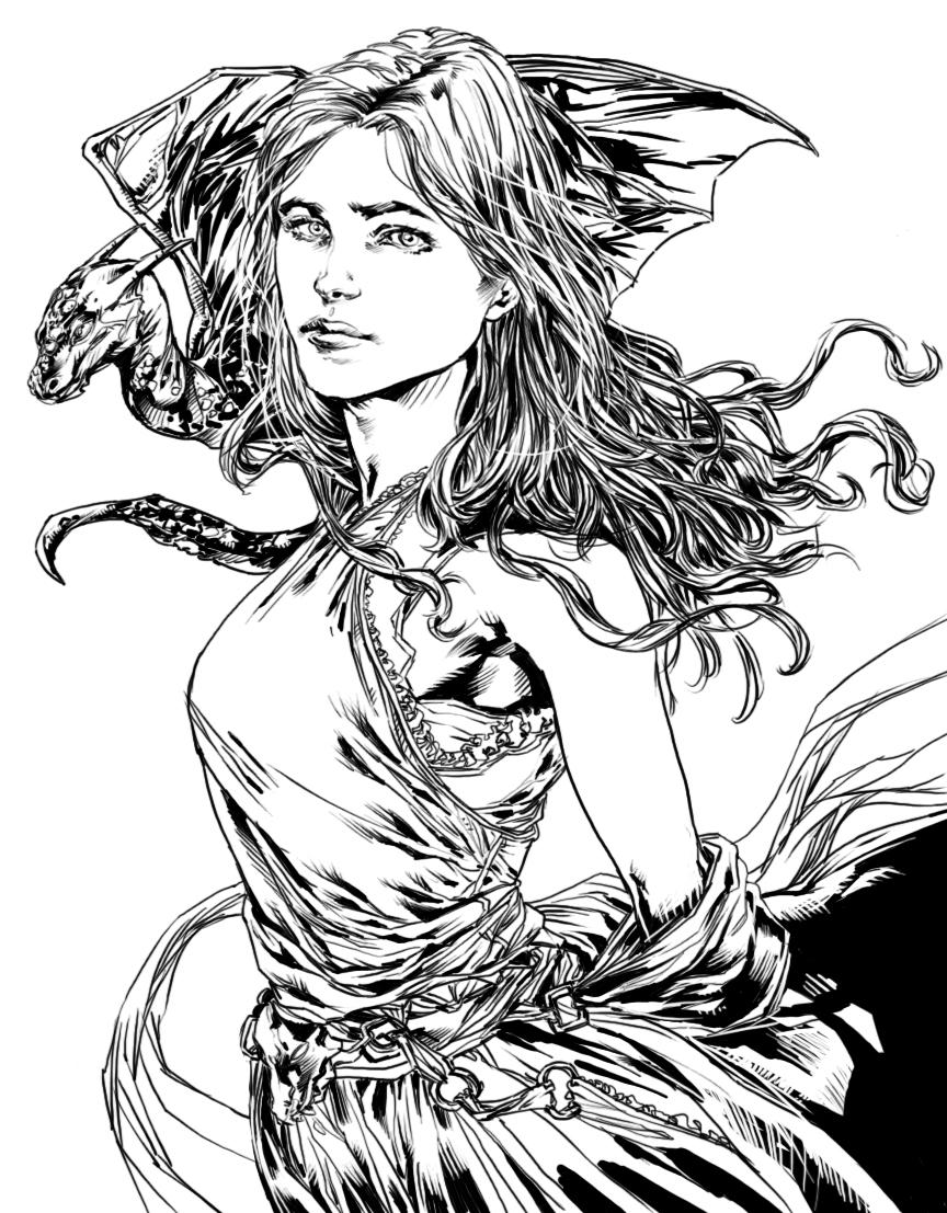Rhaegar Targaryen coloring #10, Download drawings