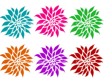 Dahlia clipart #20, Download drawings