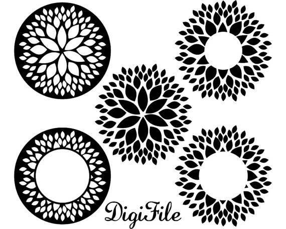Dahlia svg #13, Download drawings