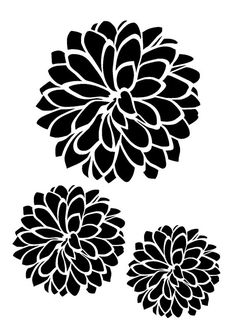 Dahlia svg #9, Download drawings