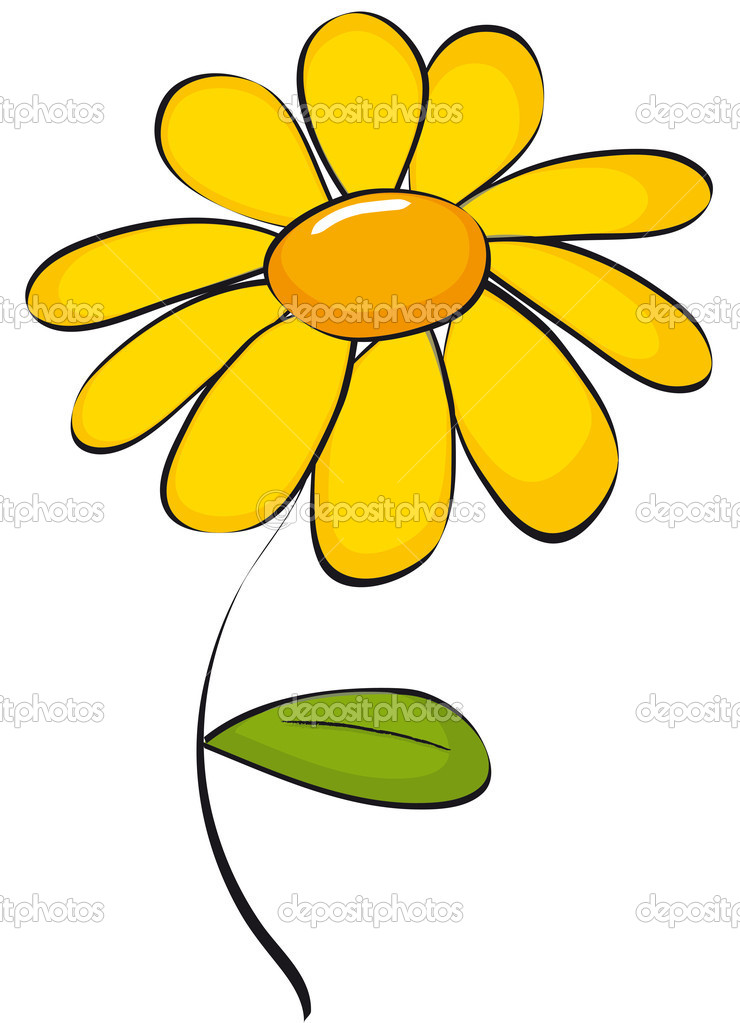 Daisy clipart #4, Download drawings