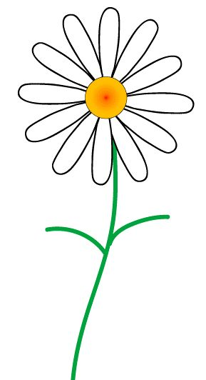 Daisy clipart #16, Download drawings