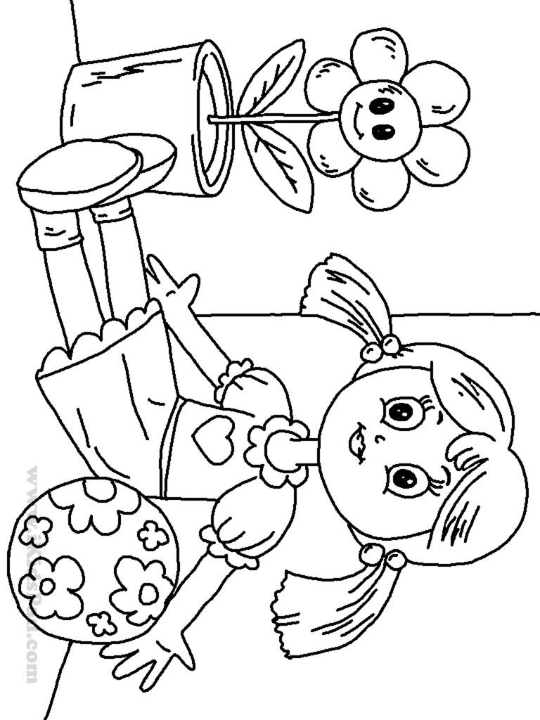 Doll coloring #15, Download drawings