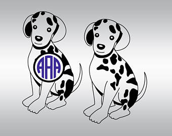Dalmatian svg #16, Download drawings