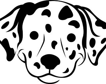Dalmatian svg #7, Download drawings
