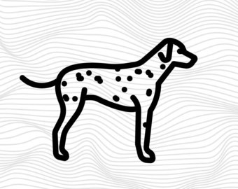 Dalmatian svg #4, Download drawings