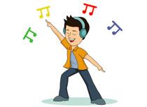 Dancing clipart #1, Download drawings