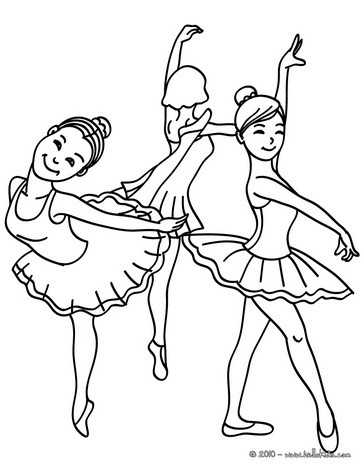 Dancing coloring #20, Download drawings