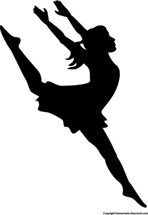 Dancer clipart #2, Download drawings