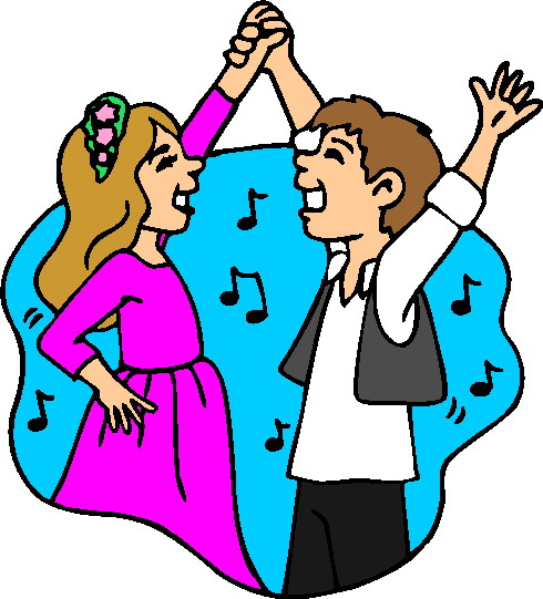 Dancing clipart #2, Download drawings