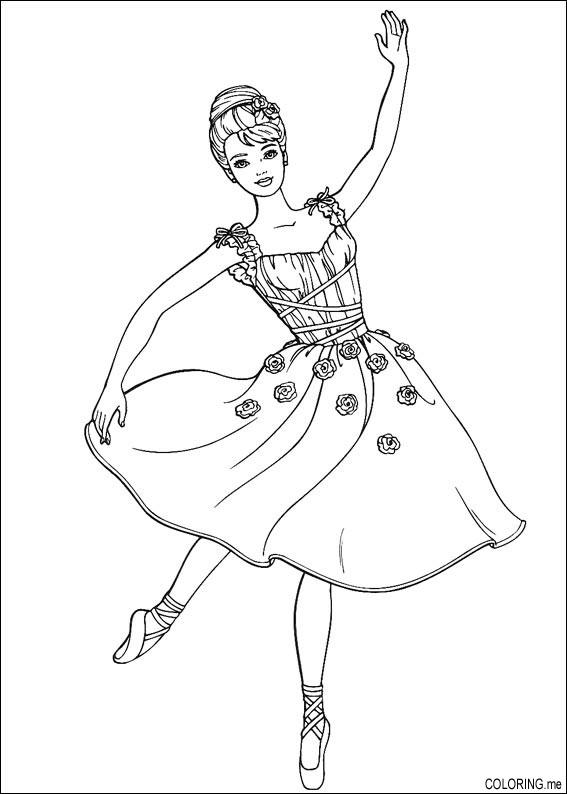 Dancing coloring #4, Download drawings