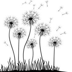 Dandelion coloring #5, Download drawings