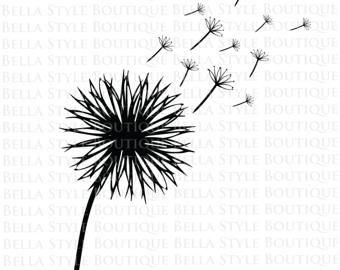 Dandelion svg #19, Download drawings