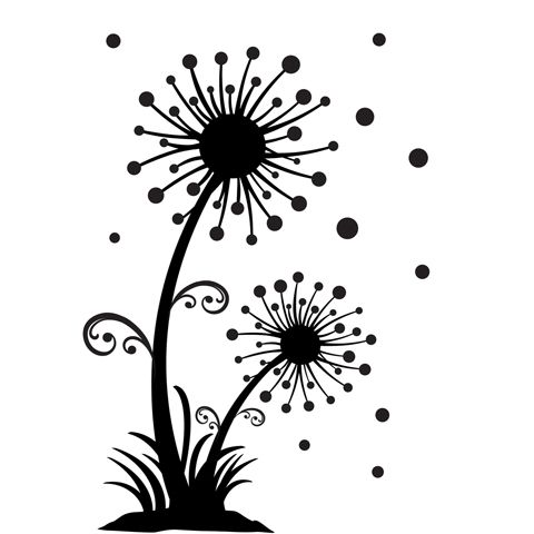 Dandelion svg #9, Download drawings