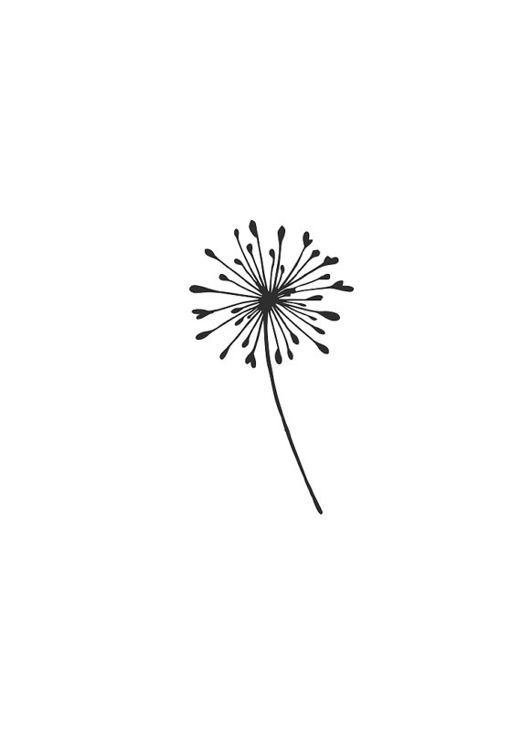 Dandelion svg #11, Download drawings