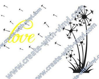 Dandelion svg #12, Download drawings
