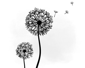 Dandelion svg #10, Download drawings
