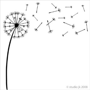 Dandelion svg #2, Download drawings