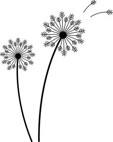 Dandelion svg #17, Download drawings