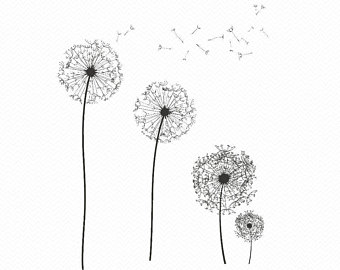 Dandelion svg #16, Download drawings