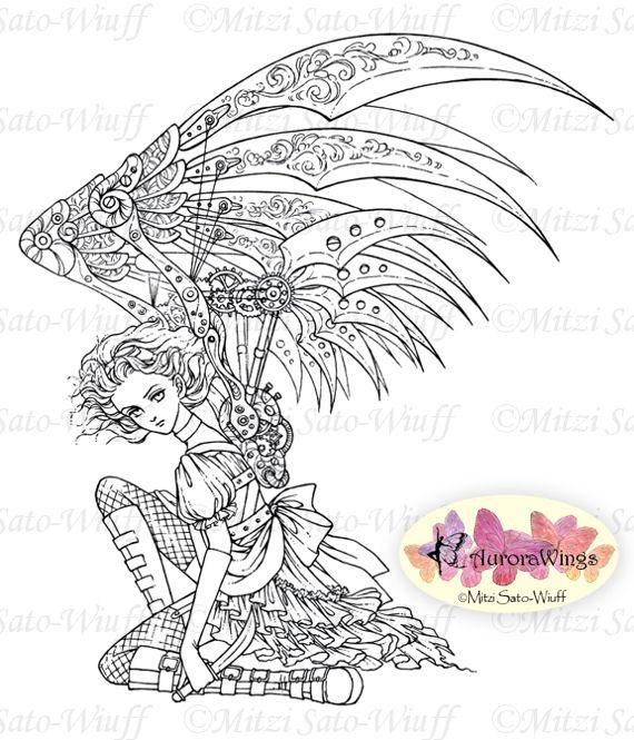 Dark Angel coloring #8, Download drawings