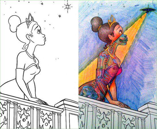 Dark coloring #20, Download drawings